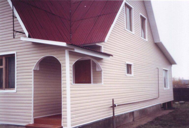 Фасад домов своими руками