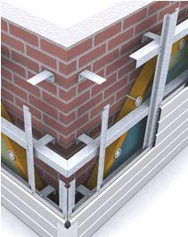 Конструкция облицовки навесными фасадными системами