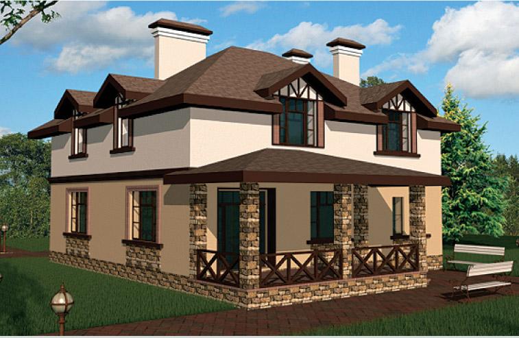 дом фасад фото