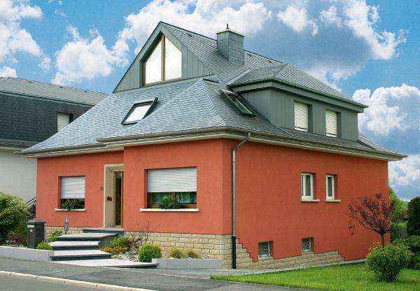краска для фасада дома по штукатурке