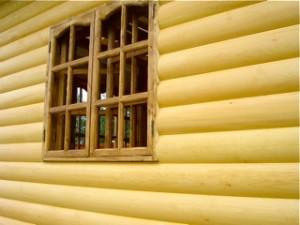 Блок Хаус можно монтировать на стены из любого материала