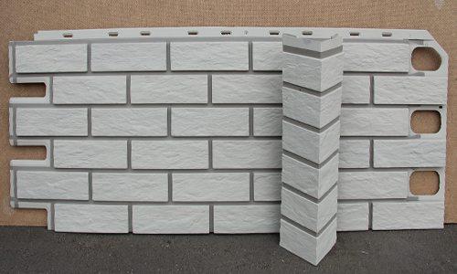 Лучше всего подходит цементный сайдинг для таких случаев, так как фактура идентичная декоративным камням
