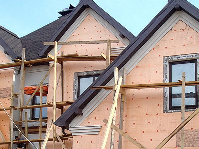 материалы для мокрого фасада