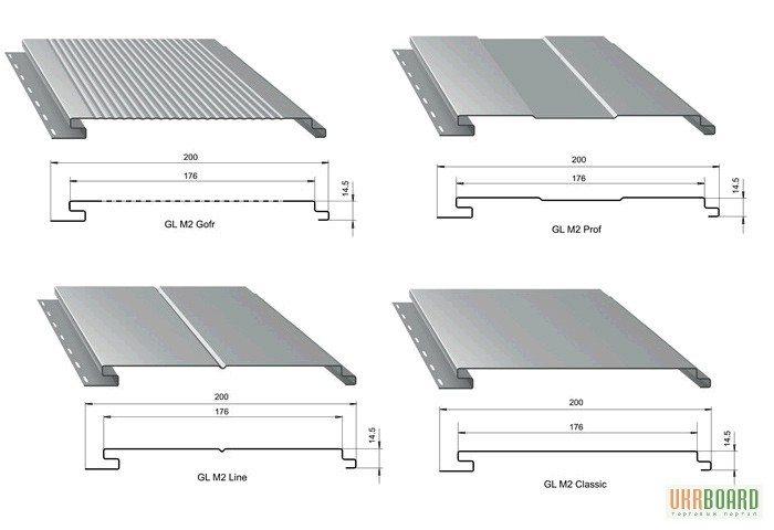 Многие фото панелей сайдинга демонстрируют их успешную имитацию 4-х и 5-дюймовой доски.