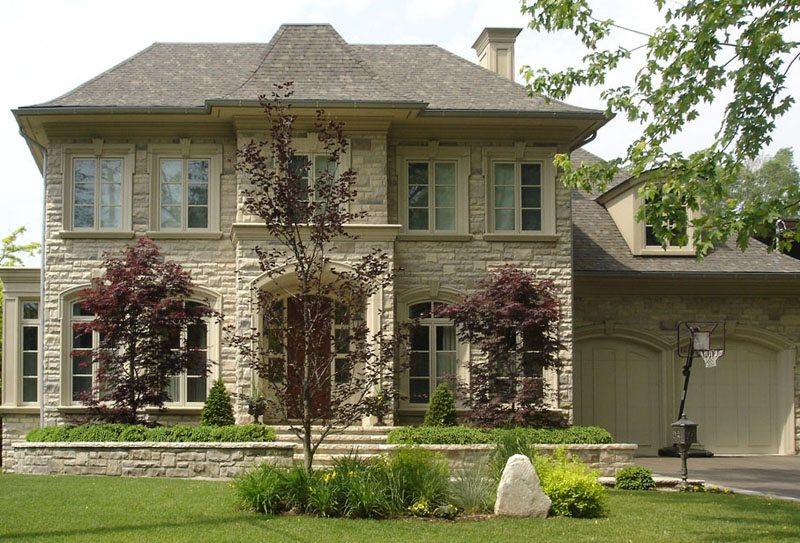 Как сделать фасад дома из камня 514
