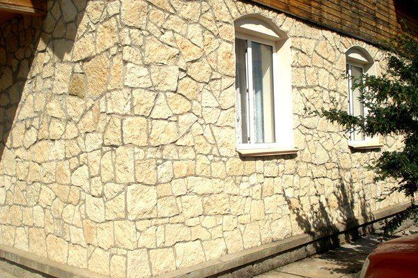 облицовочный камень для фасадов
