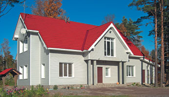 С помощью специальных программ для создания макетов удобнее всего осуществить подбор цвета сайдинга и вариантов отделки домов