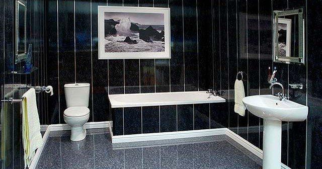 Дизайн ванных комнат из пластиковых панелей фото
