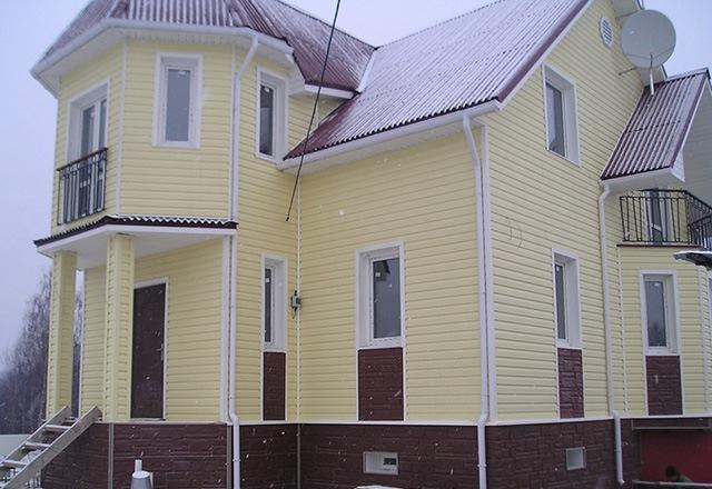 Новогодние декоративные ёлКак обшить дом сайдингом с