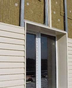 Учимся монтировать конструкция вокруг окна.
