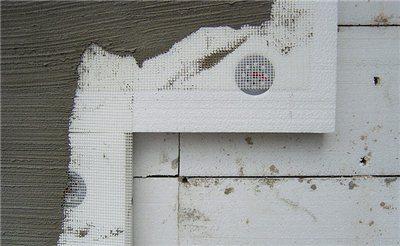 Штукатурка фасада по пенопласту