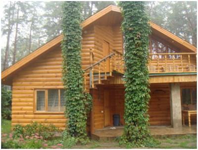 варианты отделки фасада деревянного дома