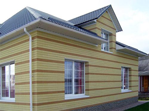 вентилируемый фасад для коттеджей