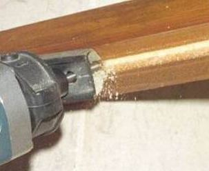 Выполнение паза для уплотнителя